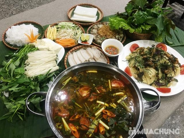 Combo bánh tráng cuốn thịt heo, lẩu ếch măng cay & nhiều món hấp dẫn - Tam Kỳ Quán - 11