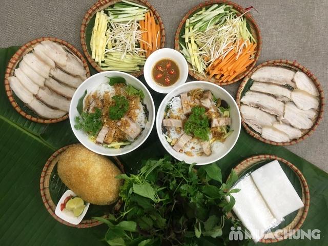 Set Bánh tráng cuốn thịt heo + Gà bó xôi + Bún nêm tại Nhà hàng Tam Kỳ Quán - Lý Thái Tổ - 1