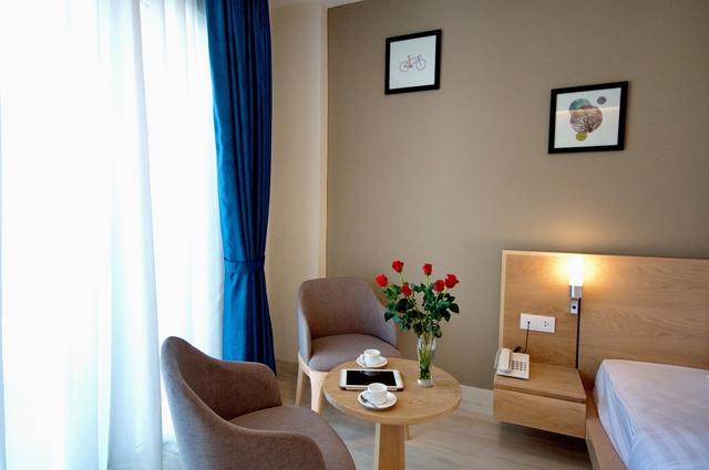 Monica Hotel Nha Trang 4 * - 3 phút tản bộ đến biển + phòng Deluxe seaview - 51