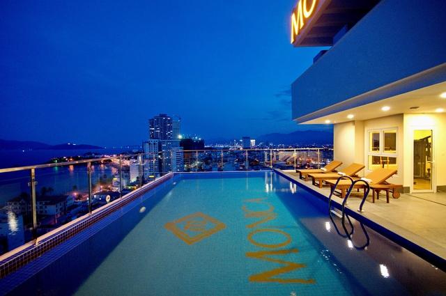 Monica Hotel Nha Trang 4 * - 3 phút tản bộ đến biển + phòng Deluxe seaview - 55