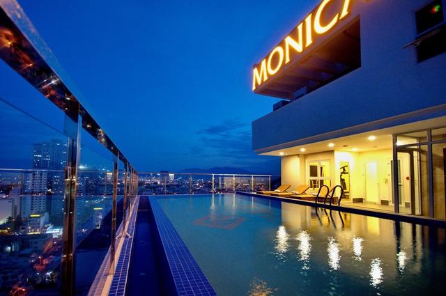 Monica Hotel Nha Trang 4 * - 3 phút tản bộ đến biển + phòng Deluxe seaview - 54