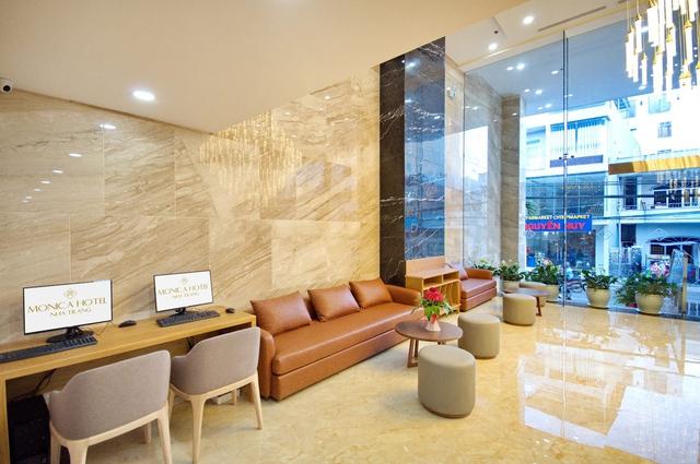 Monica Hotel Nha Trang 4 * - 3 phút tản bộ đến biển + phòng Deluxe seaview - 7