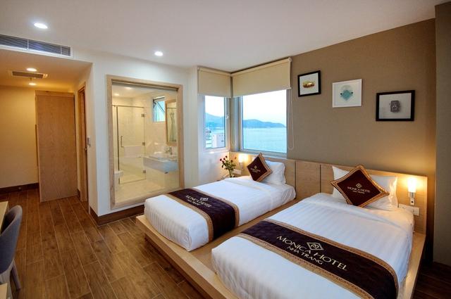 Monica Hotel Nha Trang 4 * - 3 phút tản bộ đến biển + phòng Deluxe seaview - 33