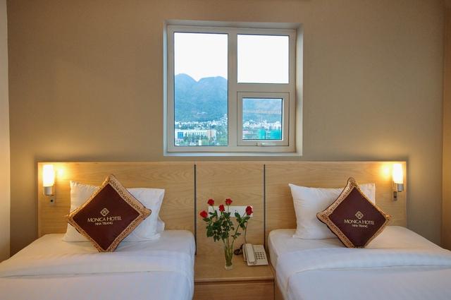 Monica Hotel Nha Trang 4 * - 3 phút tản bộ đến biển + phòng Deluxe seaview - 24
