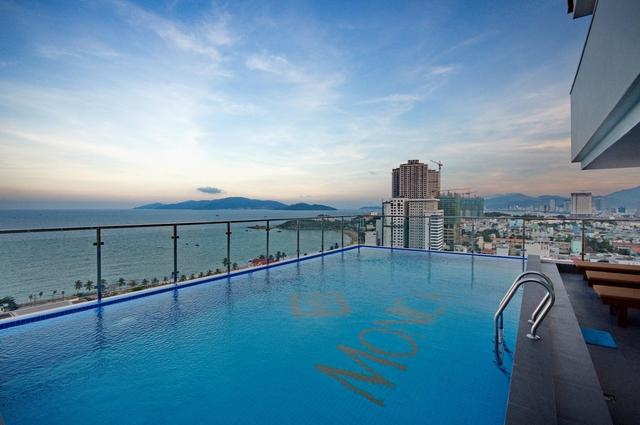Monica Hotel Nha Trang 4 * - 3 phút tản bộ đến biển + phòng Deluxe seaview - 53
