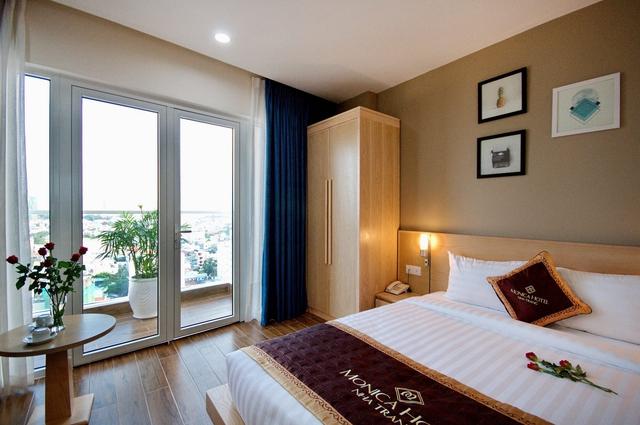 Monica Hotel Nha Trang 4 * - 3 phút tản bộ đến biển + phòng Deluxe seaview - 41