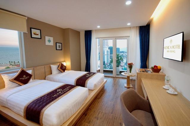 Monica Hotel Nha Trang 4 * - 3 phút tản bộ đến biển + phòng Deluxe seaview - 31