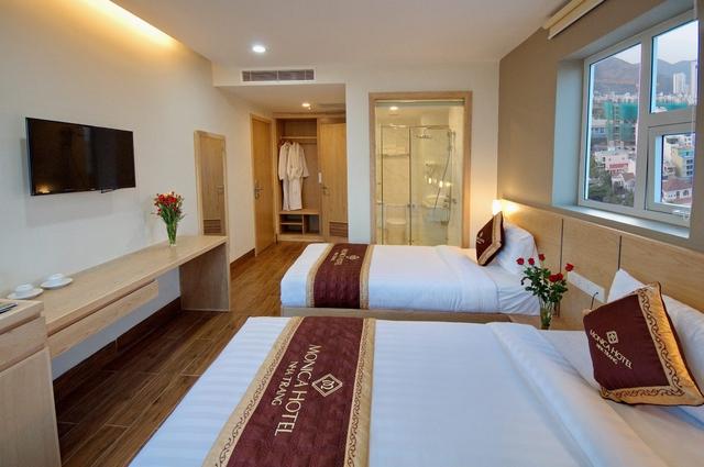 Monica Hotel Nha Trang 4 * - 3 phút tản bộ đến biển + phòng Deluxe seaview - 23