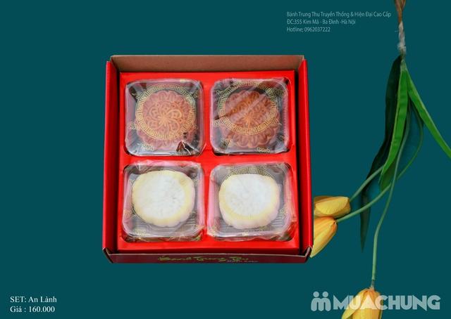Bánh Trung Thu Cao cấp Bình Chung - Set 4 bánh Trung thu truyền thống An Lành - 3