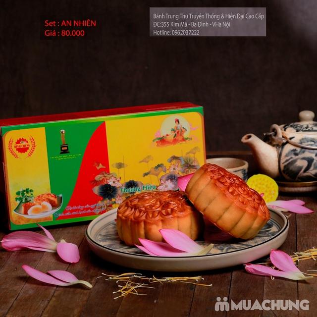 Bánh Trung Thu Cao cấp Bình Chung - 2 hộp bánh truyền thống AN NHIÊN - 5