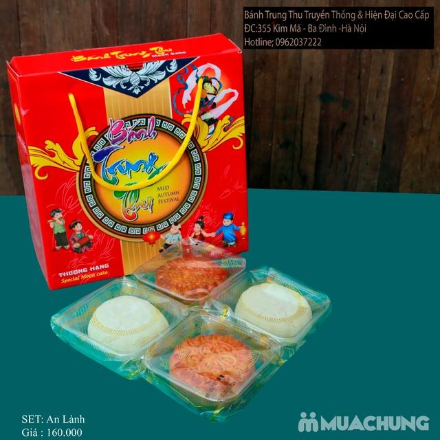 Bánh Trung Thu Cao cấp Bình Chung - Set 4 bánh Trung thu truyền thống An Lành - 5