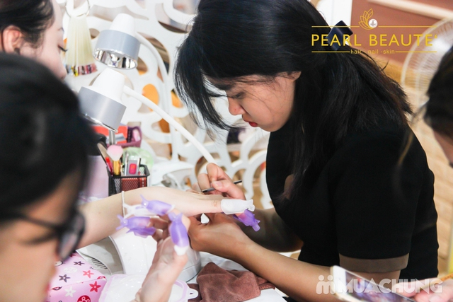 Voucher Sơn sửa, nhặt da vẽ móng + uốn mi 3D tại Pearl Beaute' - 4