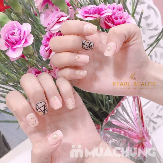 Voucher Sơn sửa, nhặt da vẽ móng + uốn mi 3D tại Pearl Beaute' - 5