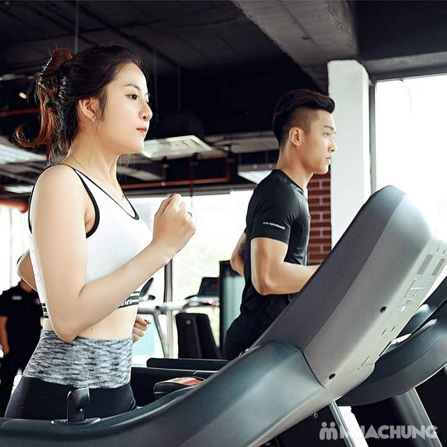 Thẻ tập Full dịch vụ Gym, Yoga, Group X, Xông hơi, Xông khô tại Fitness Station 5* - 16