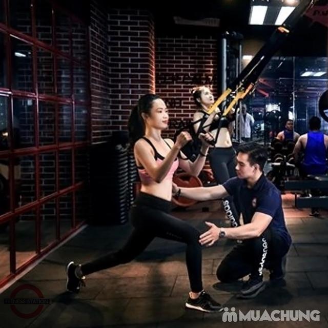 Thẻ tập Full dịch vụ Gym, Yoga, Group X, Xông hơi, Xông khô tại Fitness Station 5* - 15
