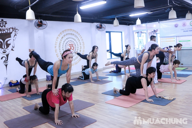 Thẻ trải nghiệm 1 tháng tập Yoga full dịch vụ tại Hệ thống Shivom Yoga & Dance - 4