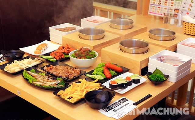 Buffet Lẩu Đúng Chuẩn Nhật Bản Tại Nhà Hàng On - Yasai Shabu Shabu Việt Nam Complex 302 Cầu Giấy - menu 248 - 21