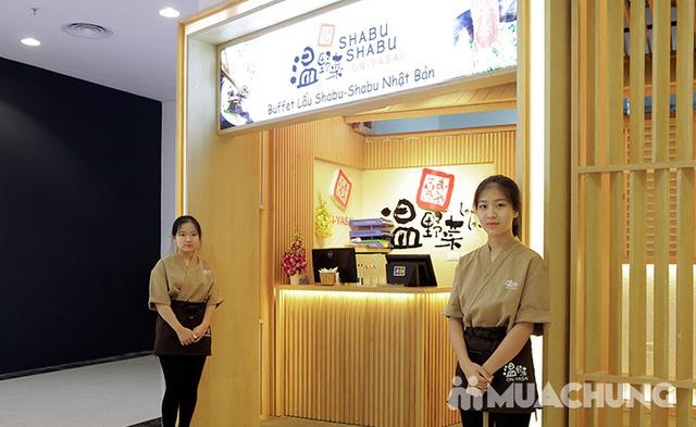 Buffet Lẩu Đúng Chuẩn Nhật Bản Tại Nhà Hàng On - Yasai Shabu Shabu Việt Nam Complex 302 Cầu Giấy - menu 248 - 65