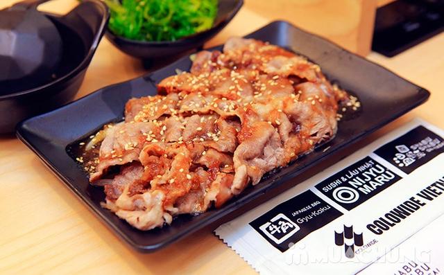 Buffet Lẩu Đúng Chuẩn Nhật Bản Tại Nhà Hàng On - Yasai Shabu Shabu Việt Nam Complex 302 Cầu Giấy - menu 248 - 44