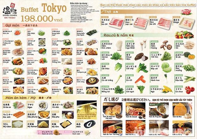 Buffet Lẩu Đúng Chuẩn Nhật Bản Tại Nhà Hàng On - Yasai Shabu Shabu - Menu 198k - 13