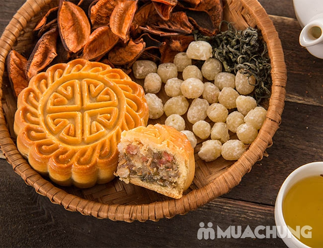 Hộp bánh Trung thu cao cấp Thu Nguyệt Bảo Ngọc 2018 - Hương Vị Truyền Thống - 8