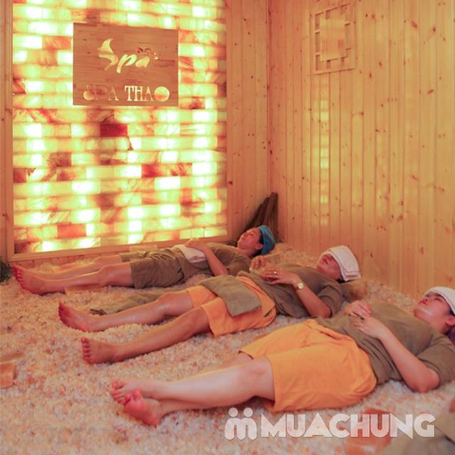 Xông hơi đá muối Đẳng cấp 5 Sao + Massage Body Tại Spa Thảo - 8