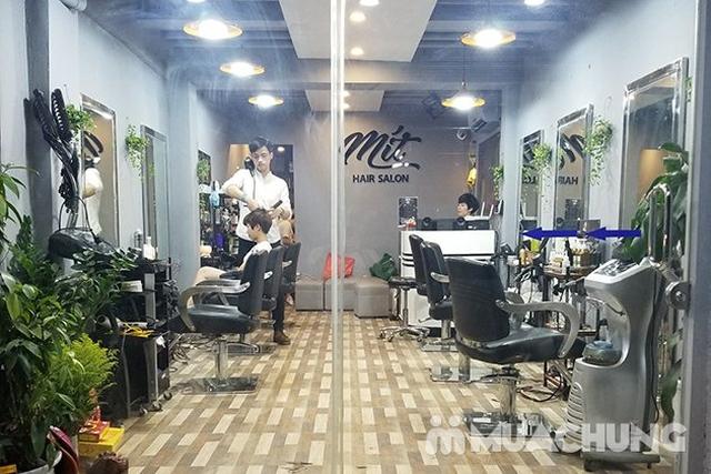 Trọn gói Cắt + Gội + Uốn/Nhuộm + Sấy tạo kiểu tại Mit Hair Salon  - 12