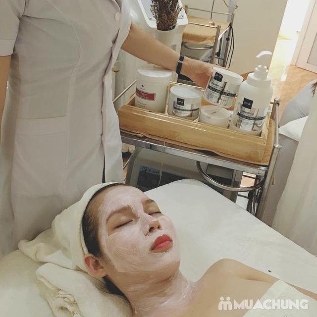Phương pháp Ủ trắng mặt The Face làm đẹp da tại Nacharm spa - 9