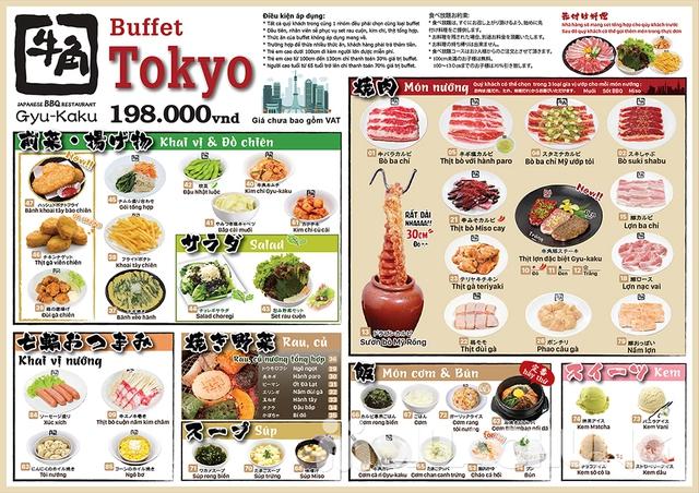 Buffet Nướng Chuẩn Vị Nhật Tại Gyu Kaku Vincom Phạm Văn Đồng - 1