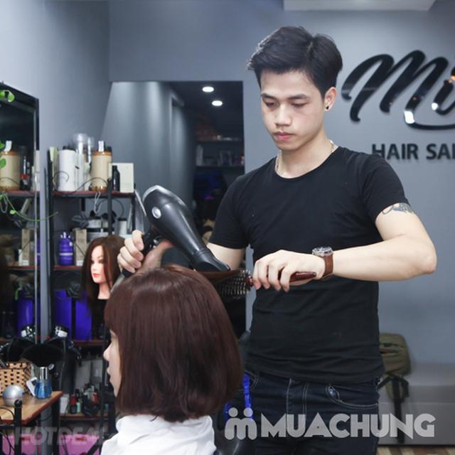 Trọn gói Cắt + Gội + Uốn/Nhuộm + Sấy tạo kiểu tại Mit Hair Salon - 8
