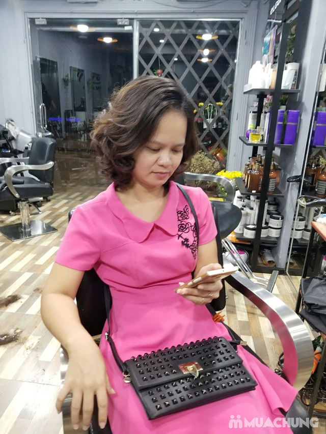 Trọn gói Cắt + Gội + Uốn/Nhuộm + Sấy tạo kiểu tại Mit Hair Salon - 17