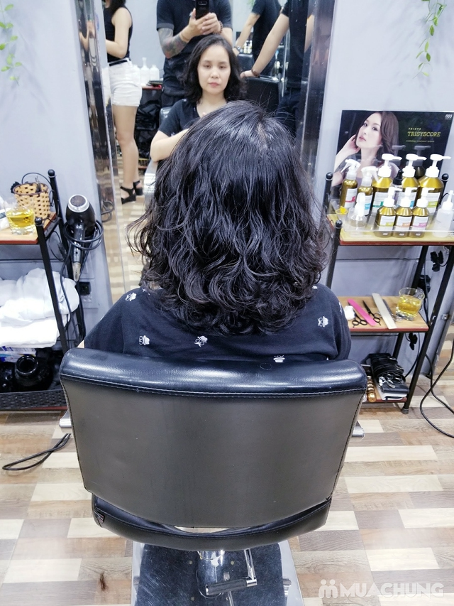 Trọn gói Cắt + Gội + Uốn/Nhuộm + Sấy tạo kiểu tại Mit Hair Salon - 19