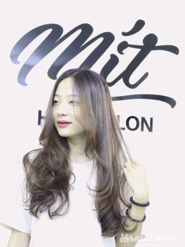 Trọn gói Cắt + Gội + Uốn/Nhuộm + Sấy tạo kiểu tại Mit Hair Salon - 13