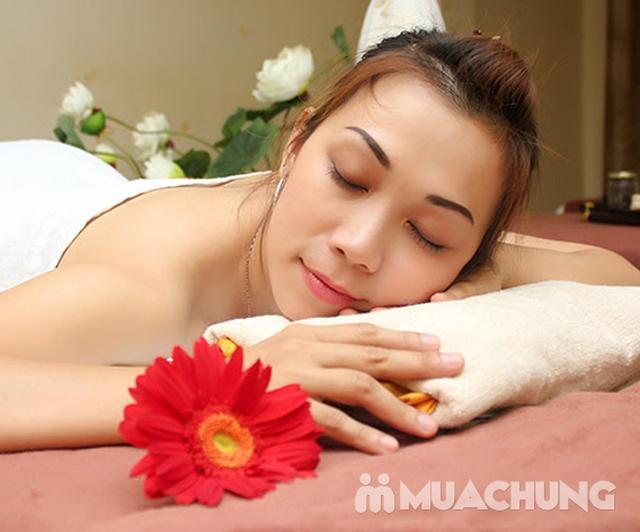 Massage body Thụy Điển kết hợp bấm huyệt/ đá nóng + Chạy Vitamin C sáng da - AHA Spa - 10
