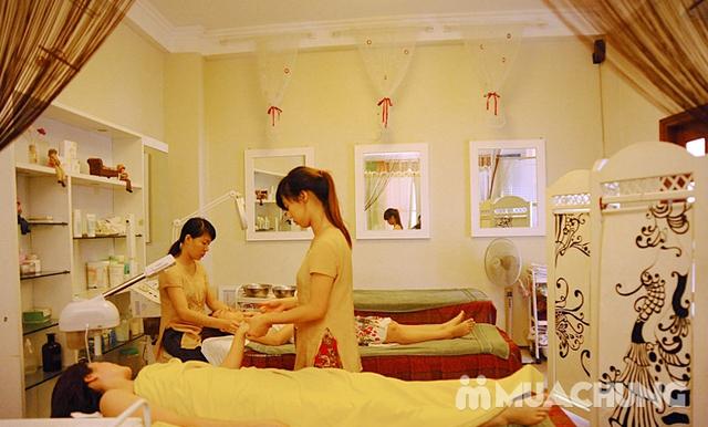 Massage body Thụy Điển kết hợp bấm huyệt/ đá nóng + Chạy Vitamin C sáng da - AHA Spa - 11