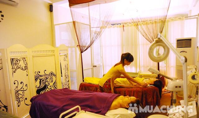 Massage body Thụy Điển kết hợp bấm huyệt/ đá nóng + Chạy Vitamin C sáng da - AHA Spa - 14
