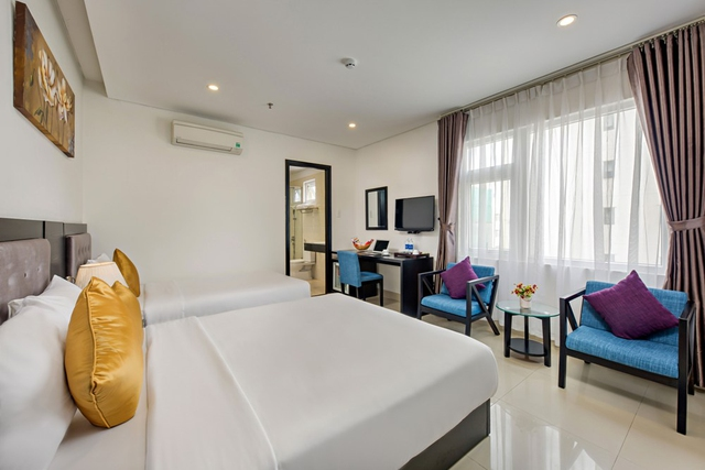 Golden Star Hotel 3,5* Đà Nẵng - Superior City View - 11