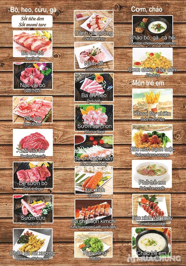 Buffet nướng lẩu cao cấp tại Habit BBQ – Menu Vip không phụ thu - 2