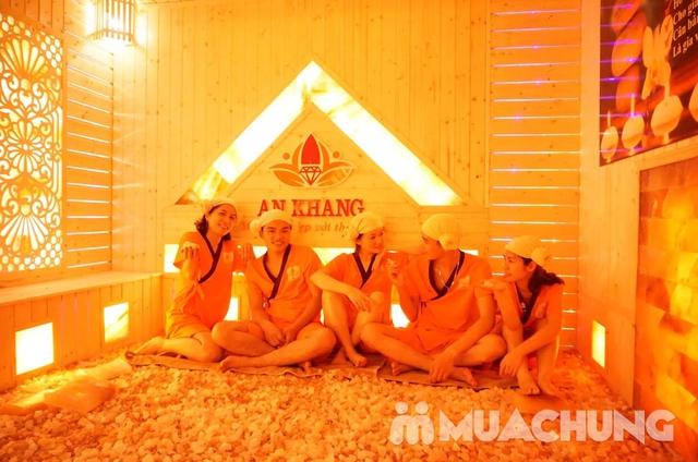 Combo 10 buổi xông hơi đá muối Hàn Quốc tại An Khang Spa  - 9