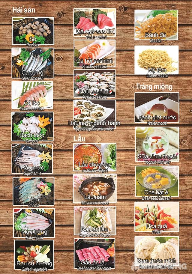 Buffet nướng lẩu cao cấp tại Habit BBQ – Menu Vip không phụ thu - 3
