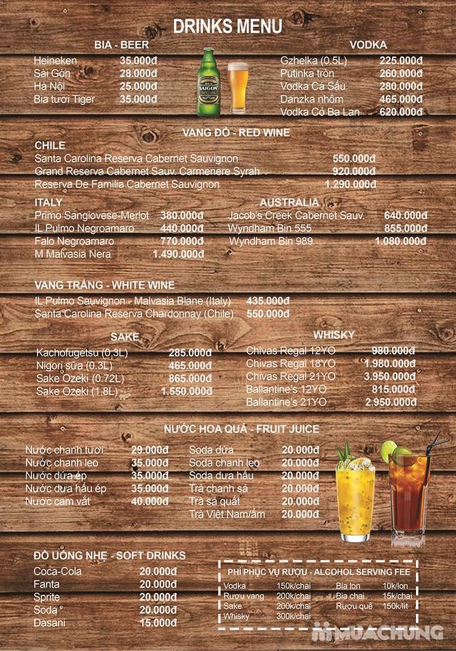 Buffet nướng lẩu cao cấp tại Habit BBQ – Menu Vip không phụ thu - 4