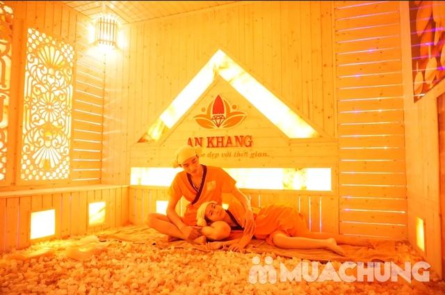 Combo 10 buổi xông hơi đá muối Hàn Quốc tại An Khang Spa  - 8