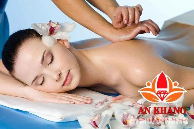 Combo 2 buổi xông hơi đá muối Đẳng cấp + Massage Body tại An Khang Spa - 5