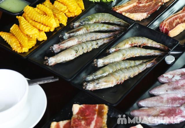Buffet lẩu Thái hải sản - bò Mỹ Thượng hạng tại PP's BBQ & HOTPOT - 6