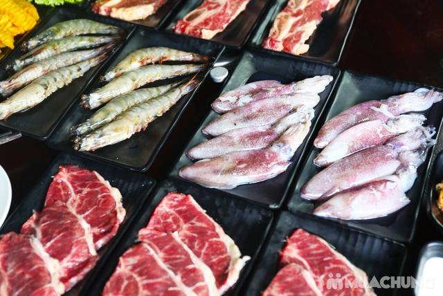 Buffet lẩu Thái hải sản - bò Mỹ Thượng hạng tại PP's BBQ & HOTPOT - 5