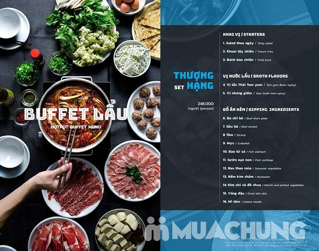 Buffet lẩu Thái hải sản - bò Mỹ Thượng hạng tại PP's BBQ & HOTPOT - 2