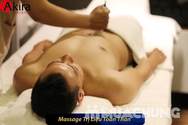 Massage trị liệu tẩy tế bào chết toàn thân tại Akira Clinic Spa - 5