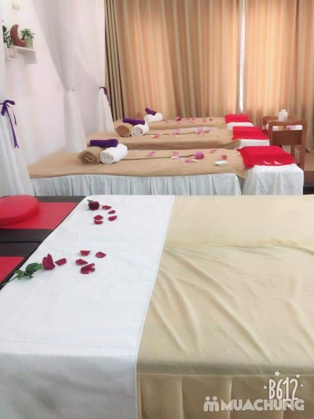 150 phút xông hơi đá muối himalaya kết hợp massage độc quyền tại Sunflower healthy Spa - 7