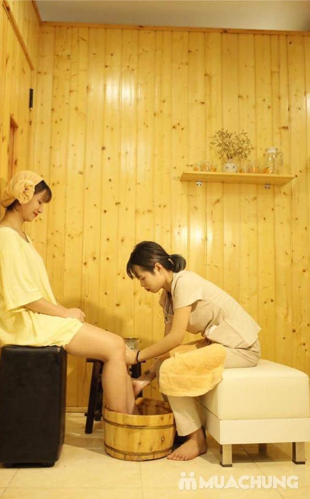150 phút xông hơi đá muối himalaya kết hợp massage độc quyền tại Sunflower healthy Spa - 6