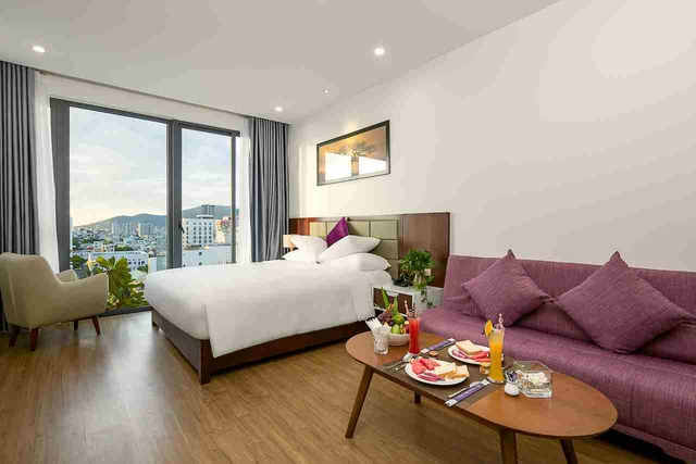 Aria Grand Hotel & Apartment 4* Đà Nẵng - Deluxe City View - 25